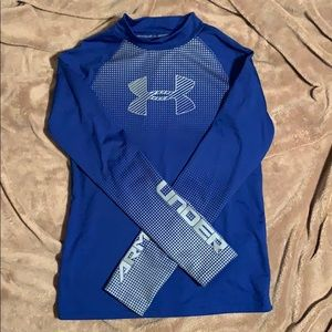 Boys Under Armour Fitted Cold Gear- Youth Large